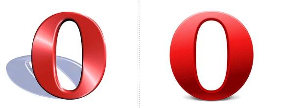 Nuevo logo de Opera (Derecha)